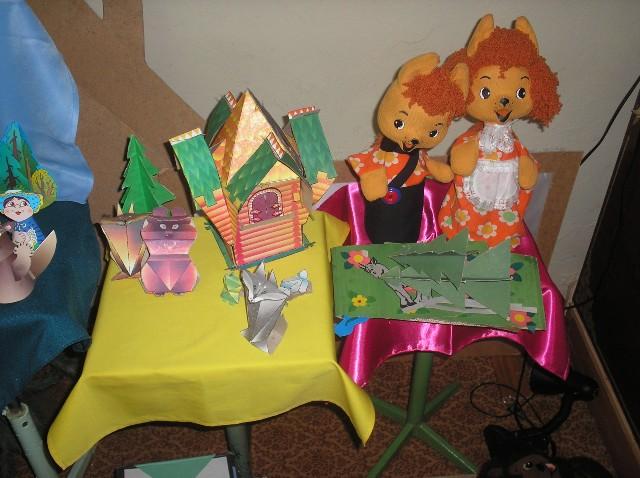 Как сделать школьный кукольный театр